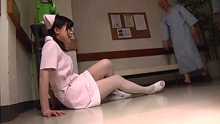 video titel: Old guy fucks a cute Japanese nurse in the hospital || porn tgas: asian,cute,fuck,gay,anyporn