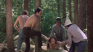 video titel: Four Horny Lumberjacks Abuse a Sexy Blonde who Got Lost In The Forest || porn tgas: abuse,blonde,horny,park,anyporn