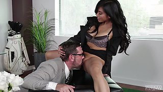 video titel: fucking her in the office an inconvenient mistress || porn tgas: asian,babe,blowjob,fuck,flyflv