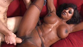 video titel: A black woman with a fit body is getting penetrated hard today || porn tgas: black woman,fitness,pornid