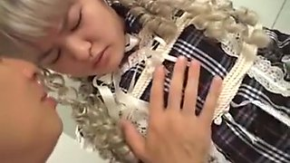 video titel: Subtitled Japanese Schoolgirl Bound And Dressed Like A Doll    porn tgas: asian,bbw,doll,japanese,videotxxx