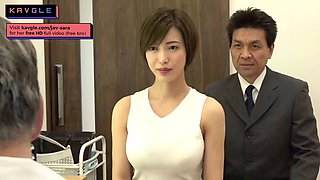 video titel: Hot japanese housewife fucking old doctor during checkup || porn tgas: amateur,anal,asian,babe,jizzbunker