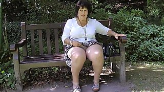 video titel: Taking off her knickers in the park || porn tgas: bbw,british,flashing,high definition,xhamster