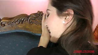 video titel: Naughty young brunette Nicole is fucked by old fart Jim Slip in hot pov clip || porn tgas: ass,beautiful,big tits,blowjob,anysex