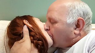 video titel: Zoey makes out with uncle albert || porn tgas: babe,fetish,old and young,redhead,jizzbunker