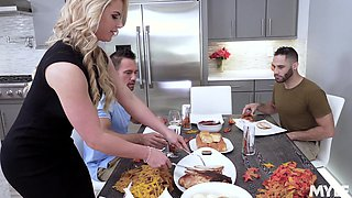 video titel: Husband loves to share his cock hungry wife Phoenix Marie. HD || porn tgas: 3some,ass,big tits,blonde,anyporn