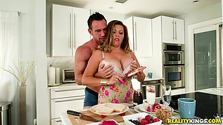 video titel: Giant meaty jugs of Alessandra Miller bouncing as she gets fucked || porn tgas: bbw,big tits,blowjob,couple,anyporn