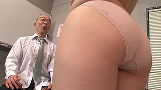 video titel: Sweet Ai Sayama wants to be plowed by a mature teacher || porn tgas: big tits,blowjob,couple,creampie,anyporn