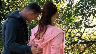 video titel: RELAXXXED Sensual fuck in the forest with busty Czech babe || porn tgas: babe,big tits,blowjob,busty,iceporn