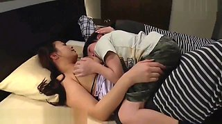 video titel: Kohey Nishi sex with stepmother big tits when her husband sleeping || porn tgas: asian,big ass,big tits,gangbang,