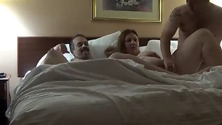 video titel: Hotel wife threesome    porn tgas: 3some,amateur,hotel,orgy,jizzbunker