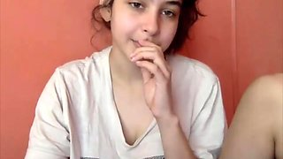 video titel: 19 year old busty webcam girl with innocent face touches her big natural ti    porn tgas: 19 years old,amateur,bbw,big ass,