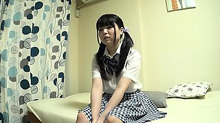 video titel: Shy asian teen strips out of her school uniform || porn tgas: amateur,asian,licking,school,nuvid