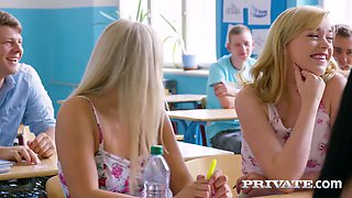 video titel: Libidinous college girlfriends are toying each others tasty pussies    porn tgas: big tits,blonde,brunette,college,anysex