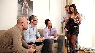 video titel: Cindy dollar GANGBANG || porn tgas: creampie,double,gangbang,group,xhamster