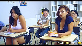 video titel: Teachers Double Team Student || porn tgas: 3some,double,high definition,milf,xhamster