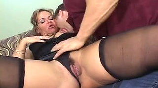 video titel: HORNY MILF DRILLED BY YOUNGER b || porn tgas: cock,drilling,horny,old and young,xhamster