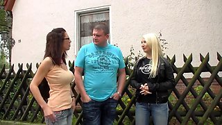 video titel: Blonde with tatto and German daddy    porn tgas: blonde,blowjob,daddy,doggy,xhamster