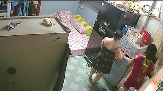 video titel: Unsecured Security Camera Mother Daughter after Bath || porn tgas: bathroom,cams,daughter,mother,xhamster
