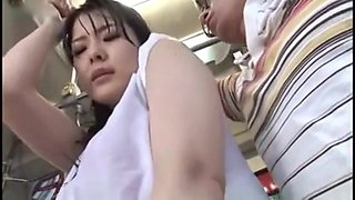 video titel: girl with wet t shirt groped on bus || porn tgas: asian,car,fingering,girl,hotmovs