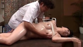 video titel: An arousal massage turns to a superb bonking session    porn tgas: asian,doggy,fingering,hardcore,