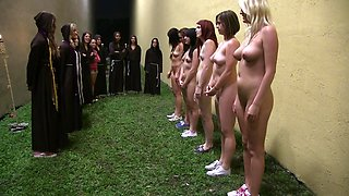video titel: Young lovely college girls || porn tgas: bdsm,brunette,college,group,