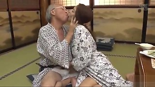 video titel: Asian MILFs vs Old Men || porn tgas: asian,brunette,fetish,japanese,