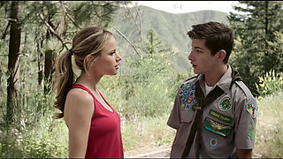 video titel: Halston Sage. Sarah Dumont Guide to the Zombie.    porn tgas: american,babe,big tits,blonde,xhamster