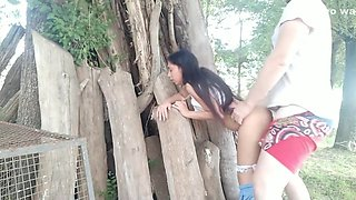 video titel: Outdoor Abuse On Extreme Tight Young Pussy SCREAMING TEEN GET CUM ON TITS || porn tgas: abuse,cum on tits,extreme,outdoor,