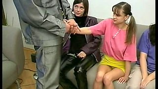 video titel: man experienced cutie made lesson at innocent Virgins || porn tgas: cute,group,hardcore,innocent,xhamster