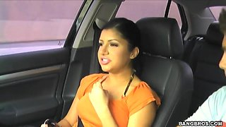 video titel: Sexy cute Sativa Rose in a car, a pure beauty to the eyes    porn tgas: beach,beautiful,beauty,brunette,