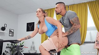 video titel: Taylee Wood Cheating Wifes Big Tits Workout || porn tgas: big ass,big tits,brunette,cheating,