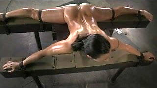 video titel: Flexible slut bound in splits,spitroasted, and BBC creampied || porn tgas: bbc,creampie,flexible,sluts,xhamster