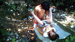 video titel: Younger Asian With Sexy MILF Prostitute Bareback Outdoors || porn tgas: asian,gay,old and young,outdoor,xhamster