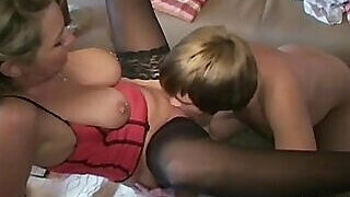 video titel: German babe in stockings lets him munch on it || porn tgas: amateur,ass,family,fuck,PornoSex