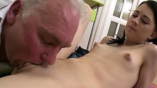 video titel: Remarkable barely legal sweetheart Mila enjoys sex action || porn tgas: action,enjoying,legal,old man,nuvid