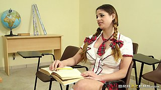 video titel: Horny College Babe Gets A Big Nasty Facial From Her Teacher || porn tgas: ass,babe,big tits,college,anyporn