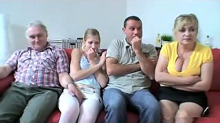 video titel: Old Juvenile Group || porn tgas: granny,group,mature,old and young,