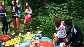 video titel: Naughty babes merge bodies and start touching pussies at picnic || porn tgas: anal,babe,blonde,blowjob,hdtube