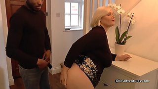 video titel: blonde grandma gets assfucked by young black guy || porn tgas: amateur,anal,ass,black,xxxdan
