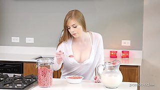 video titel: Handsome guy gets to fuck stunning Dolly Leigh in different poses || porn tgas: ass,fuck,gay,kitchen,bravotube