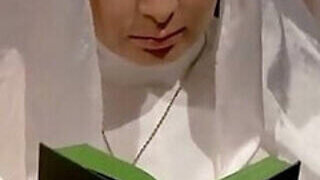 video titel: Naughty nun is going to explore her sexuality || porn tgas: ass,bbw,family,fuck,PornoSex