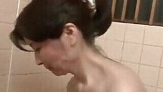 video titel: Lustful Asian chick washing his body in HD || porn tgas: asian,chick,high definition,licking,PornoSex