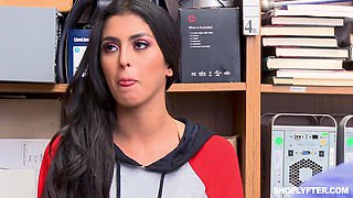video titel: Sophia Leone punish fucked in a store for stealing stuff || porn tgas: big tits,blowjob,brunette,couple,bravoteens