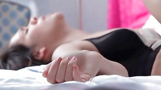 video titel: One Night Stand || porn tgas: bed,blowjob,brunette,doggy,tableterotica