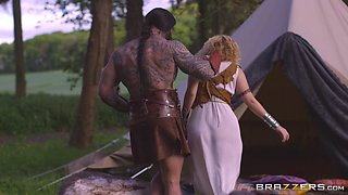 video titel: Hottest babes of Westeros are about to get a good drilling || porn tgas: 3some,babe,big tits,blonde,bravotube