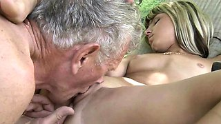 video titel: Teen Step Sister Masturbating Doggy Style Fucks Old Man || porn tgas: blonde,doggy,fuck,hardcore,nuvid