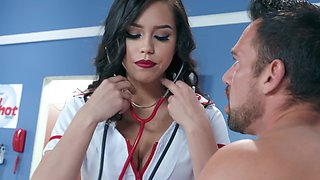 video titel: Alina Lopez is a perfect nurse because of body shapes and sex wishes || porn tgas: latin,nurse,office,old man,sexvid