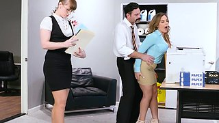video titel: Premium office sex experience for new secretary in heats || porn tgas: office,secretary,xbabe