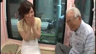 video titel: Candid young japan girl be seduced by old man || porn tgas: asian,big tits,cute,japanese,hotmovs